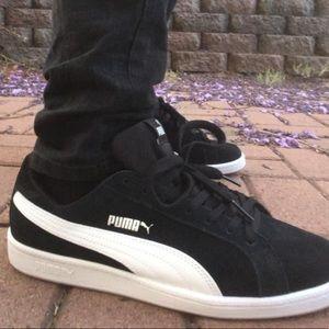 Men's Puma Suede Leather Smash Sneaker Shoes Kicks